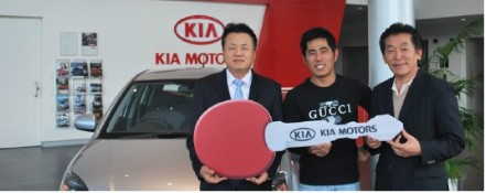 Jin Sub Kim wins a Kia through hole in one insurance